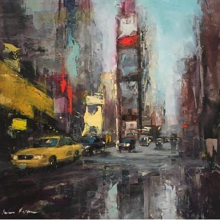 Amine Karoun Time square 36 x 36 cm