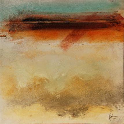 Christian Hévin Abstraction #2665 25 x 25 cm