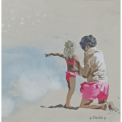 Sand Maman splash 13 x 13 cm
