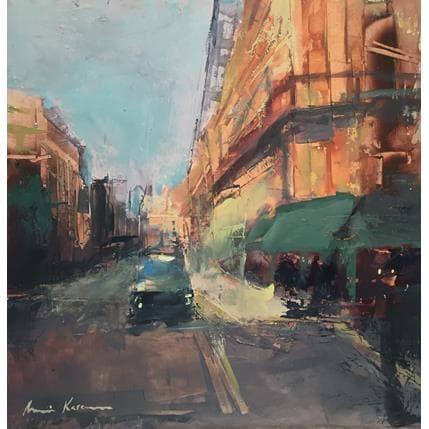 Amine Karoun Paris street 25 x 25 cm