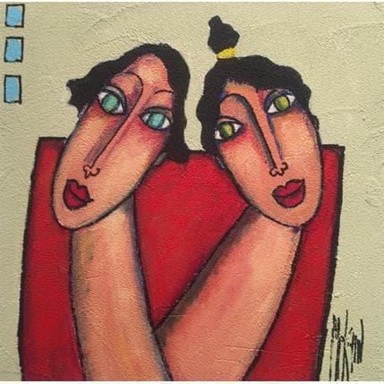 Marie-Pierre Kuhn Lili et Lulu 25 x 25 cm