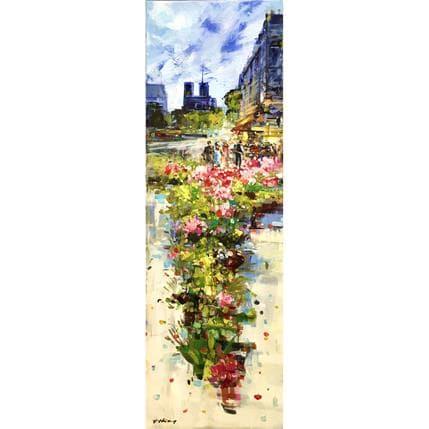 Frédéric Thiéry Des fleurs pour Notre-Dame 40 x 120 cm