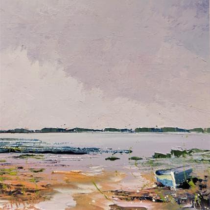 Jacques Majos BARQUES ABANDONNEES 13 x 13 cm