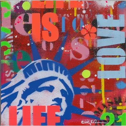 Philippe Euger Life in love 25 x 25 cm