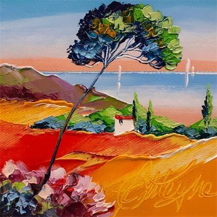 David Fonteyne Au sud d'Aix 13 x 13 cm