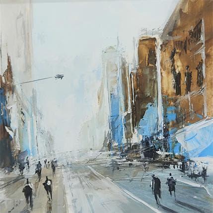 Richard Poumelin City 19 x 19 cm