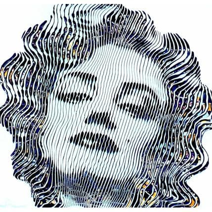 Virginie Schroeder The only one Marylin Monroe 50 x 50 cm