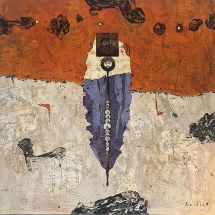 Thierry Boitier Tangerine karma 80 x 80 cm