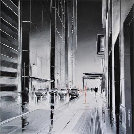 Maurizio Galloro Reflets nocturnes 25 x 25 cm