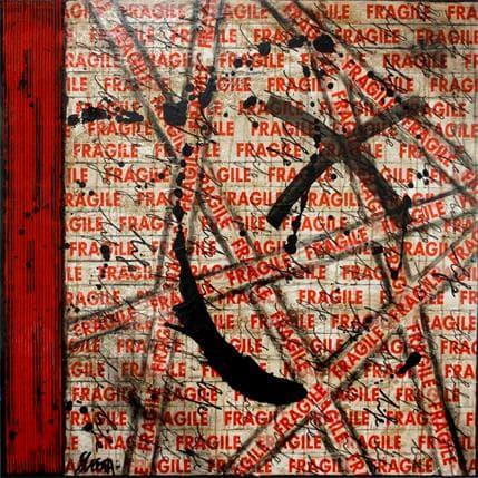Sophie Costa Fragile Life 100 x 100 cm