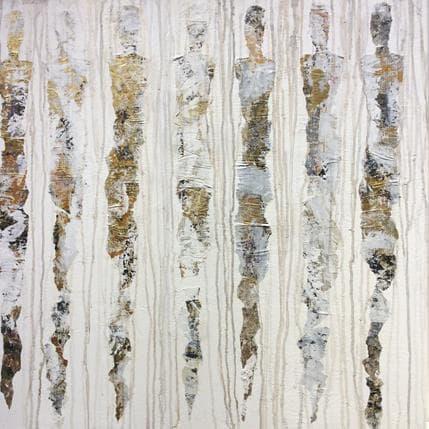 Sophie Rocco Sans titre  (les fées magiques) 80 x 80 cm