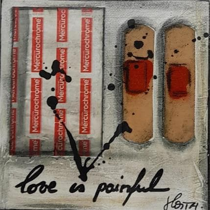 Costa Sophie Love is painful 13 x 13 cm