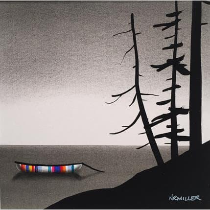 Natasha Miller Crazy canoe 13 x 13 cm