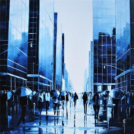 Maurizio Galloro Vibrante perception 36 x 36 cm