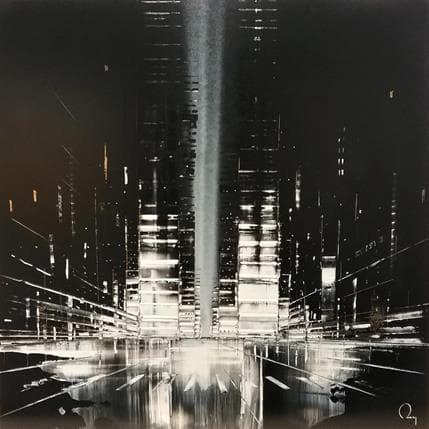 Julien Rey Darkness 80 x 80 cm