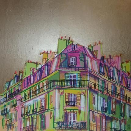 Olivier Anicet Premières lueurs 36 x 36 cm