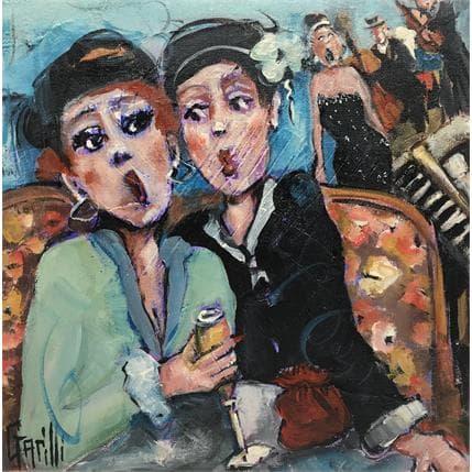 Nicole Garilli Cancans sur notes de jazz 19 x 19 cm