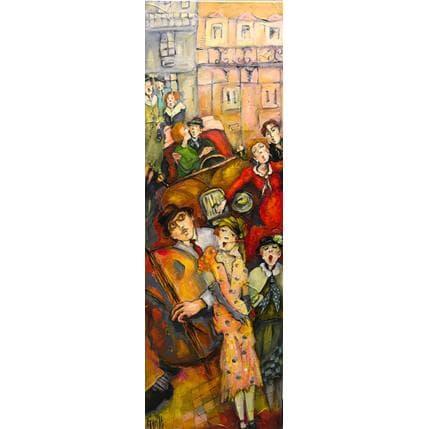 Nicole Garilli C'est la fête, vue de la gaité I 40 x 120 cm