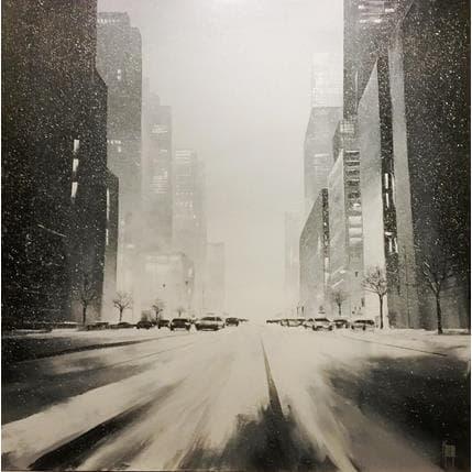 Maurizio Galloro Nuit blanche 100 x 100 cm