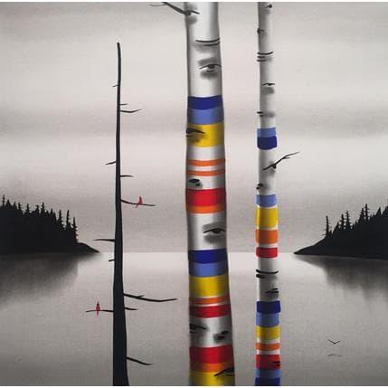 Natasha Miller The memory tree 36 x 36 cm