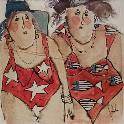 Cécile Colombo Marcel et Germaine 13 x 13 cm