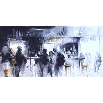 Violaine Abbatucci IMPRESSIONS HOP STORE 100 x 50 cm