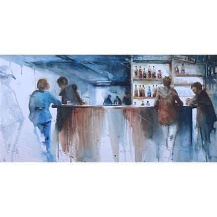 Violaine Abbatucci CHARLOTTE, UN RHUM GINGEMBRE, STP ! 100 x 50 cm