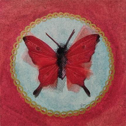 Nai Papillon red passion 13 x 13 cm