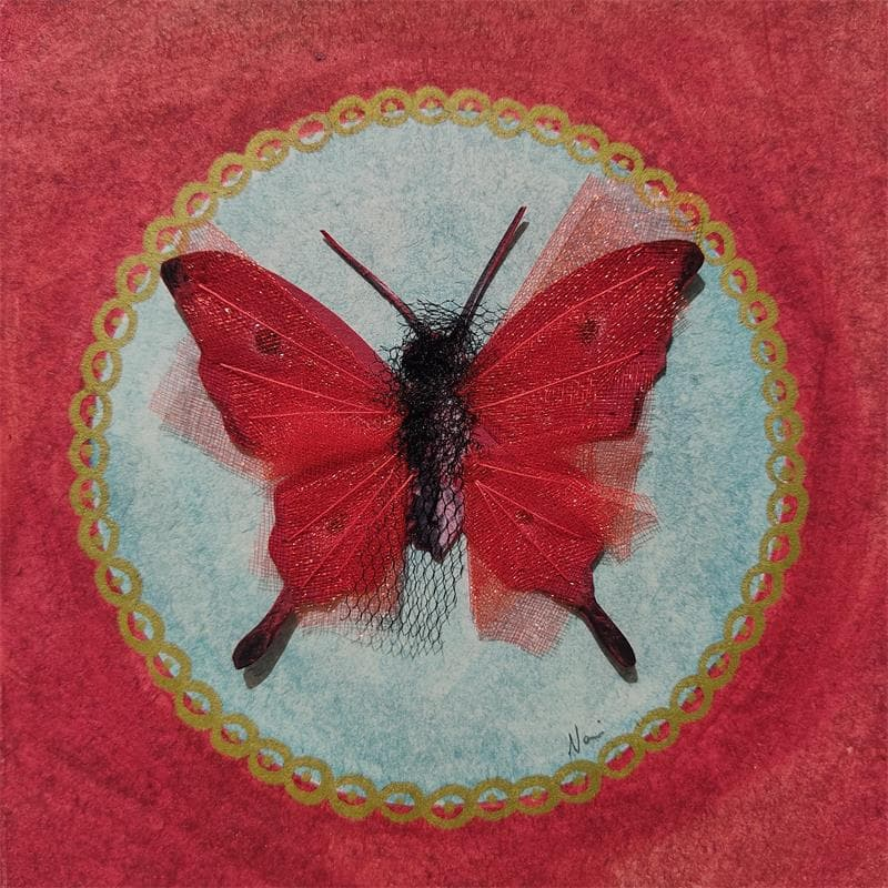 Papillon red passion