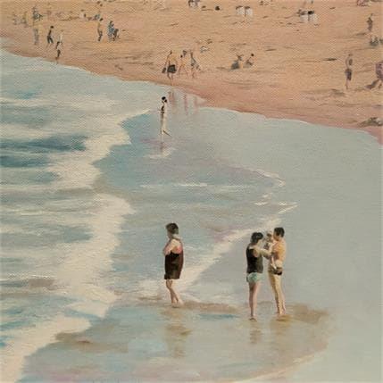 Sergi Castignani PLAYING ON THE BEACH 3 25 x 25 cm