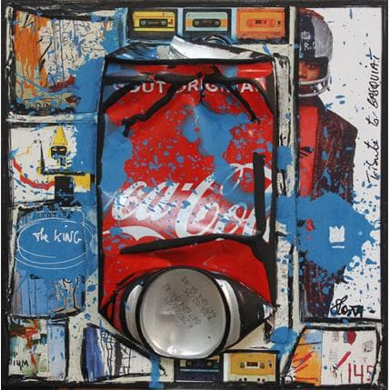Sophie Costa Basquiat coke 19 x 19 cm