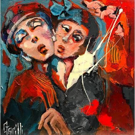 Nicole Garilli Rêverie d'automne 50 x 50 cm
