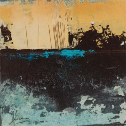 Christian Hévin Abstraction #8340 13 x 13 cm