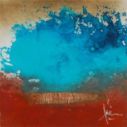 Christian Hévin Abstraction #8322 13 x 13 cm