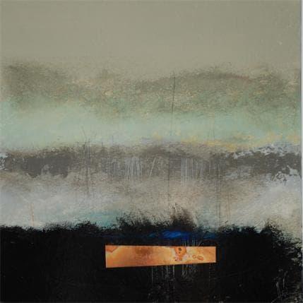 Christian Hévin Abstraction #8255 36 x 36 cm