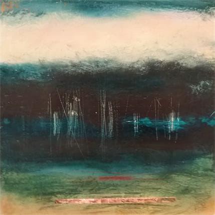Christian Hévin Abstraction #8264 36 x 36 cm