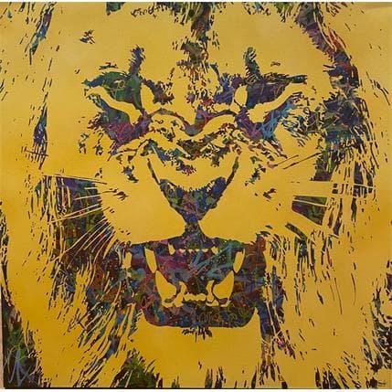 FRANCKY Le Lion 80 x 80 cm