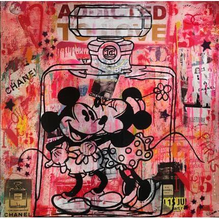 Kikayou Mickey & Minnie Chanel 100 x 100 cm