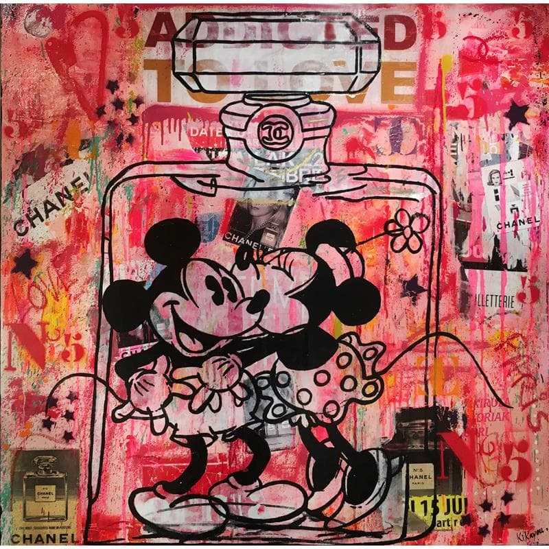 Mickey & Minnie Chanel