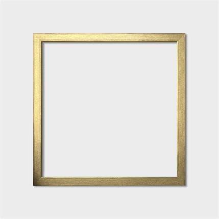 Carré d'artistes Goldy frame