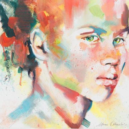 Monica Abbondanzia Orange 25 x 25 cm