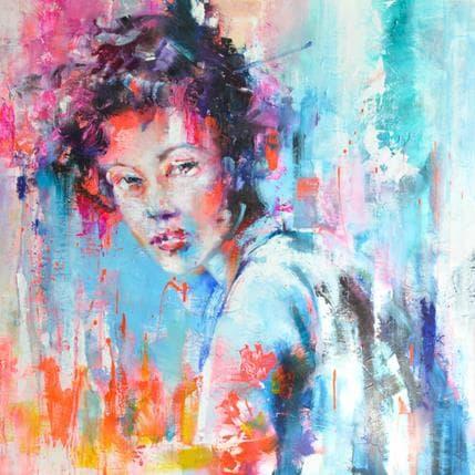 Monica Abbondanzia Orlente 80 x 80 cm