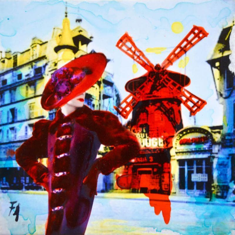 The Moulin Rouge's girl