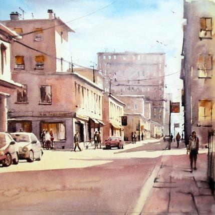 Abbatucci Violaine Dimanche dans la ville 36 x 36 cm
