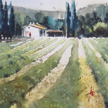 Violaine Abbatucci Printemps Toscane 19 x 19 cm