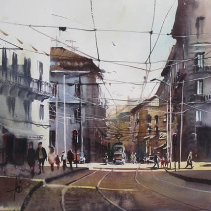 Violaine Abbatucci Via Cusani 36 x 36 cm