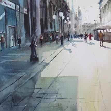 Violaine Abbatucci Douce lumière matinale 50 x 50 cm