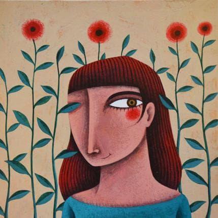 Gemma Aguasca Sole Florida 13 x 13 cm