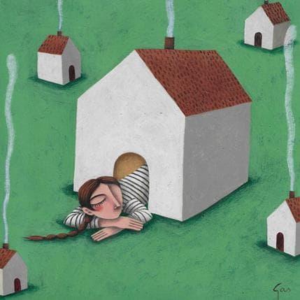 Gemma Aguasca Sole Sortir del confort 19 x 19 cm