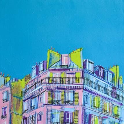 Olivier Anicet Perspective marine 50 x 50 cm